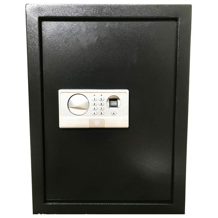 ABLEHOME FINGERPRINT BIOMETRIC ELECTRONIC RECESSED HIDDEN WALL SAFE SECURITY BOX GUN CASH