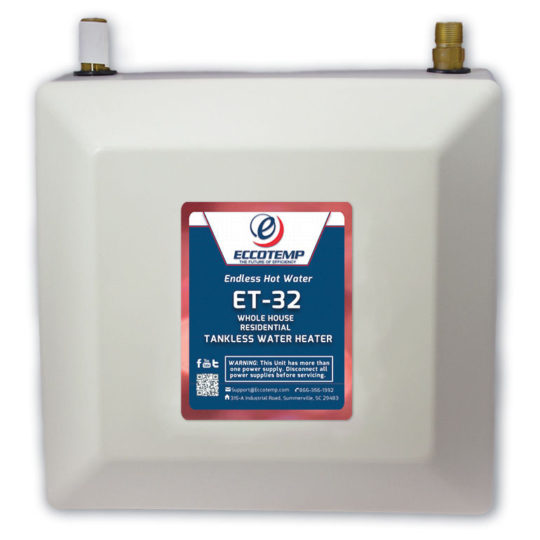 ET-32 Electric Residential Water Heater