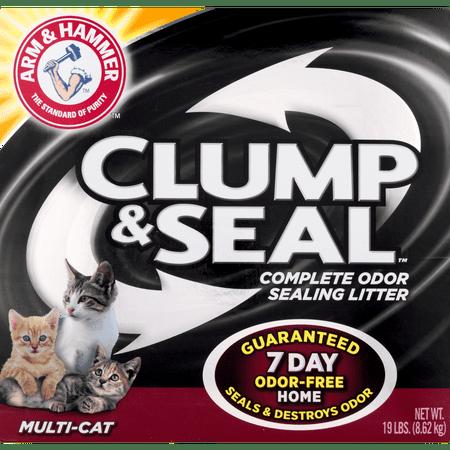 Arm & Hammer Clump & Seal Fresh Home Cat Litter 19Lb. Box