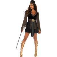Leg Avenue Womens 2 PC Sexy Glamazon Warrior Costume