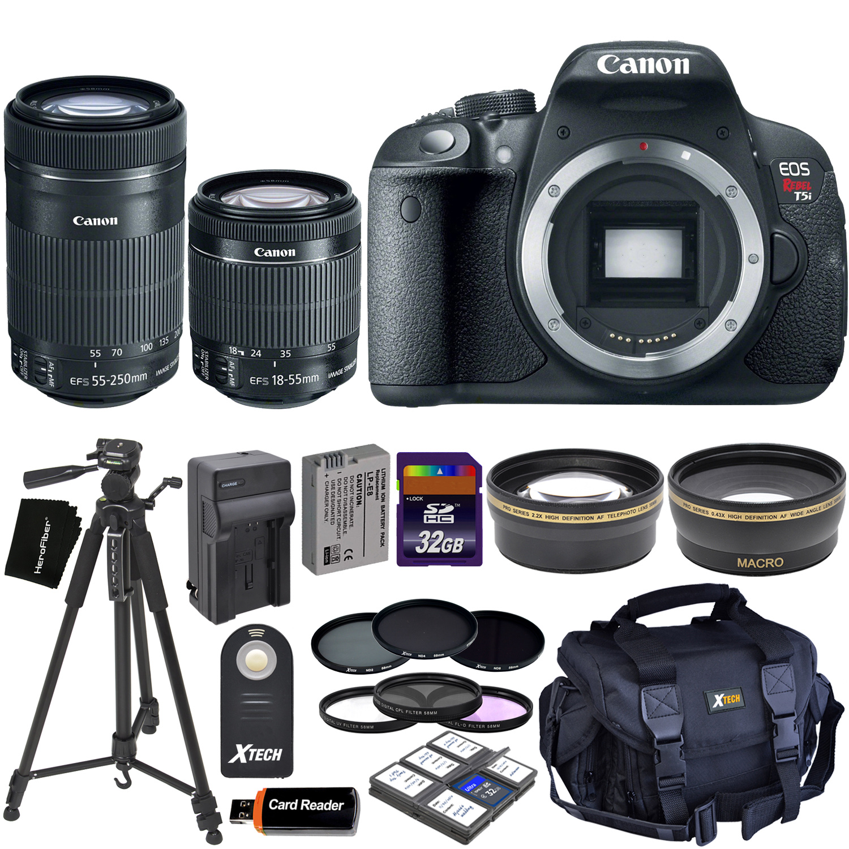 Canon EOS Rebel T5i Digital SLR Camera with 18-55mm STM &...