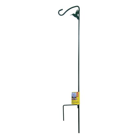 Hummingbird Metal - 42-Inch Metal Stake with Hook for Hummingbird Feeders, Hang your hummingbird feeders near flowers with this decoratve hook. By Stokes Select Ship from US
