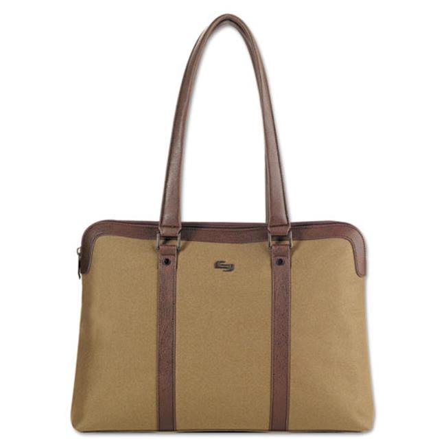 Us Luggage VTA83011 Executive Ladies Tote - Khaki & Brown...