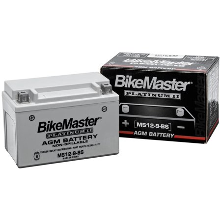 BikeMaster AGM Platinum II Battery MS12-9-BS