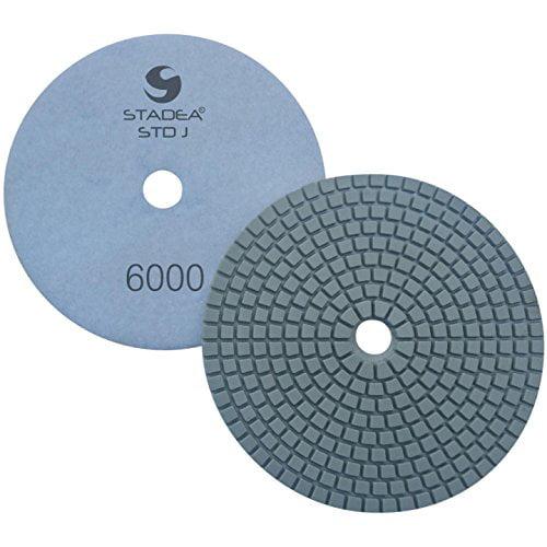 4 inch Diamond Polishing pad Wet//Dry Granite Marble Stone Quartz Concrete