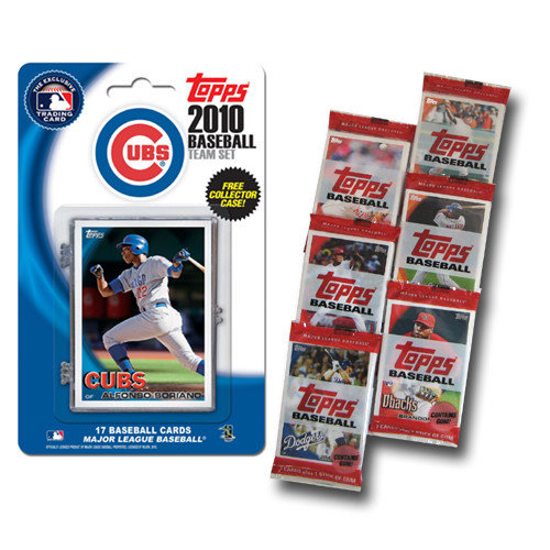 2010 Topps MLB Team Set With Packs - Chicago Cubs Chicago Cubs MCT10BBCHIC