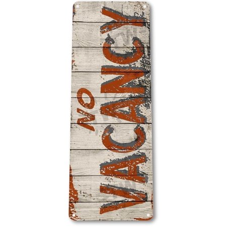TIN SIGN B789 No Vacancy Cottage Hotel Motel Rustic Metal Decor, By Tinworld ()