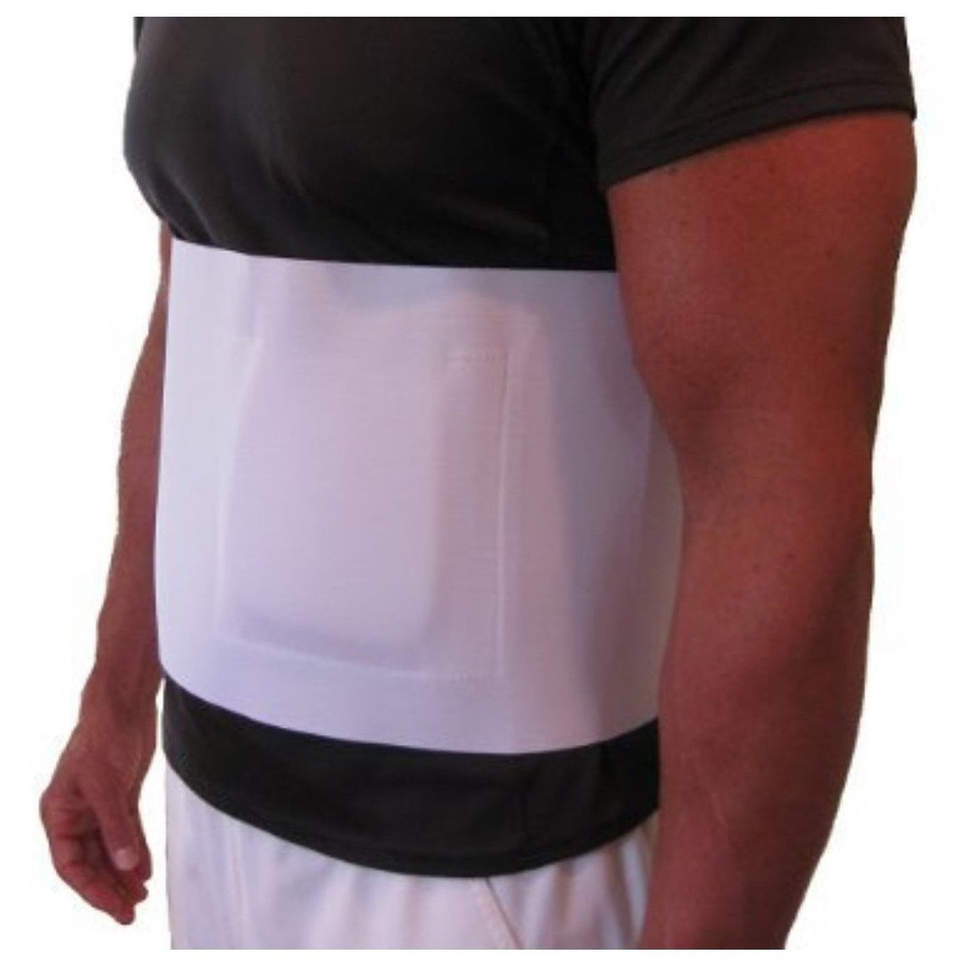 Flexamed Umbilical Hernia Belt With Compression Pad 8 Wide