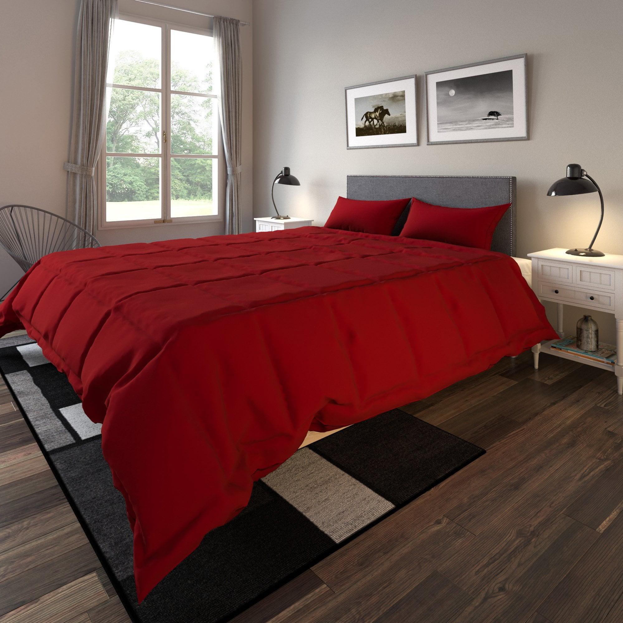 Porch & Den Microfiber Down Alternative 3-piece Comforter Set