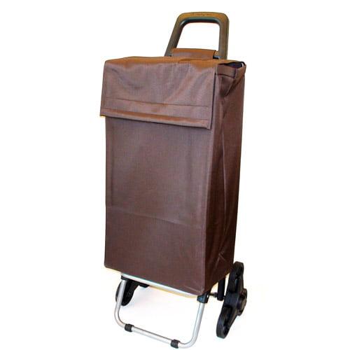 Stair Conquerer Shopping Cart, Brown