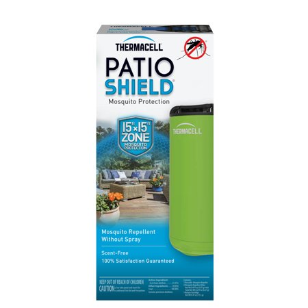 Thermacell Patio Shield Mosquito Repeller, Greenery Green; 12 Hours Of Spray-Free Mosquito Repellent