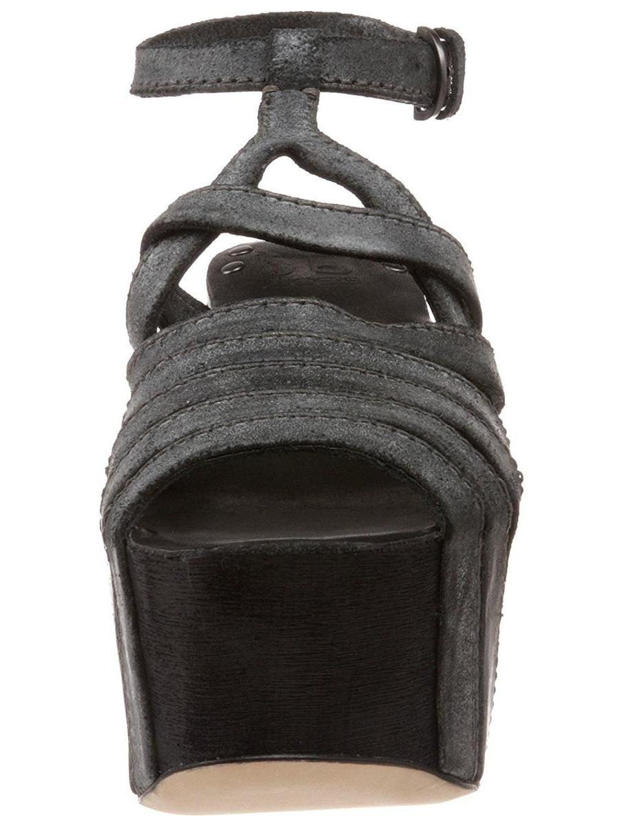 Joe's Jeans Briggs Women's Black Wedge Sandal 8M