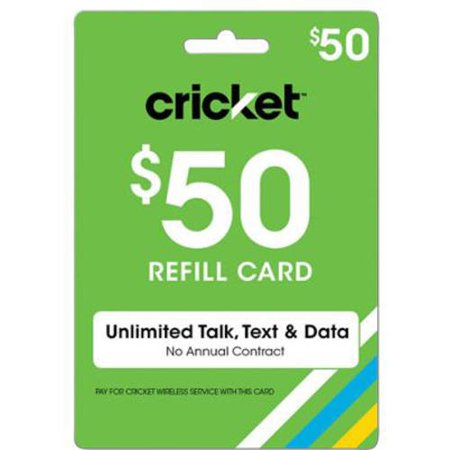 (email Delivery) Cricket Paygo $50 Card