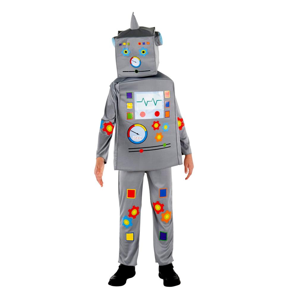 Costume Halloween Robot.Child Classic Robot Halloween Costume Walmart Com Walmart Com