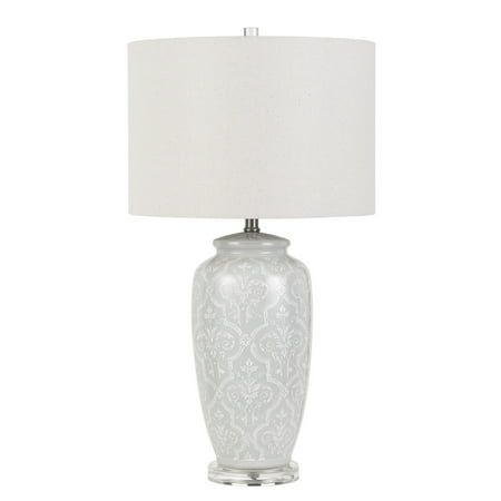 150W 3 Way Corato Ceramic Table Lamp (Lamp Only) - Cal Lighting
