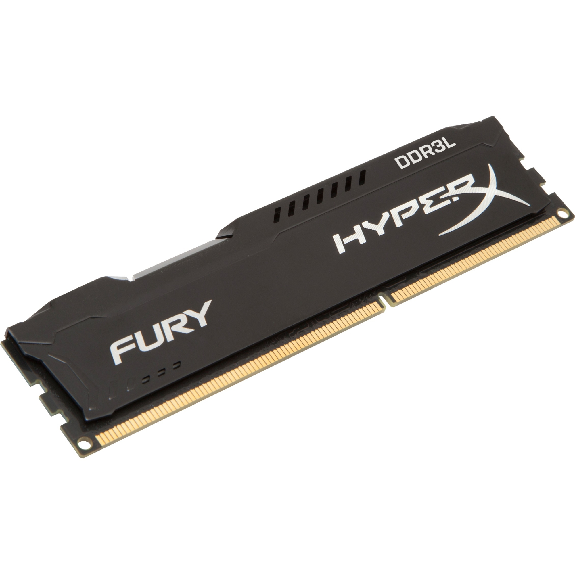 Kingston HyperX FURY Memory Low Voltage - Module - DDR3L 1866MHz - 4 GB (1 x 4 GB) - DDR3L SDRAM - 1866 MHz - 1.35 V -