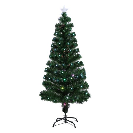 colorful led color changing led fiber optic lights christmas tree decoration holiday festival indoor outdoor