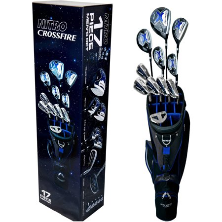 Nitro Men's 17-Piece Golf Club Set
