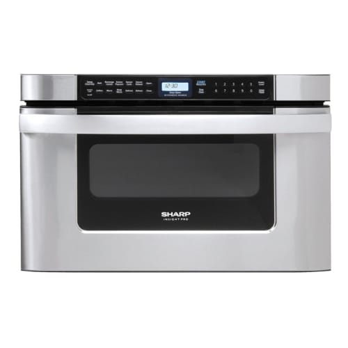 Sharp KB6524P 24 Inch Wide 1.2 Cu. Ft. Drawer Microwave w...