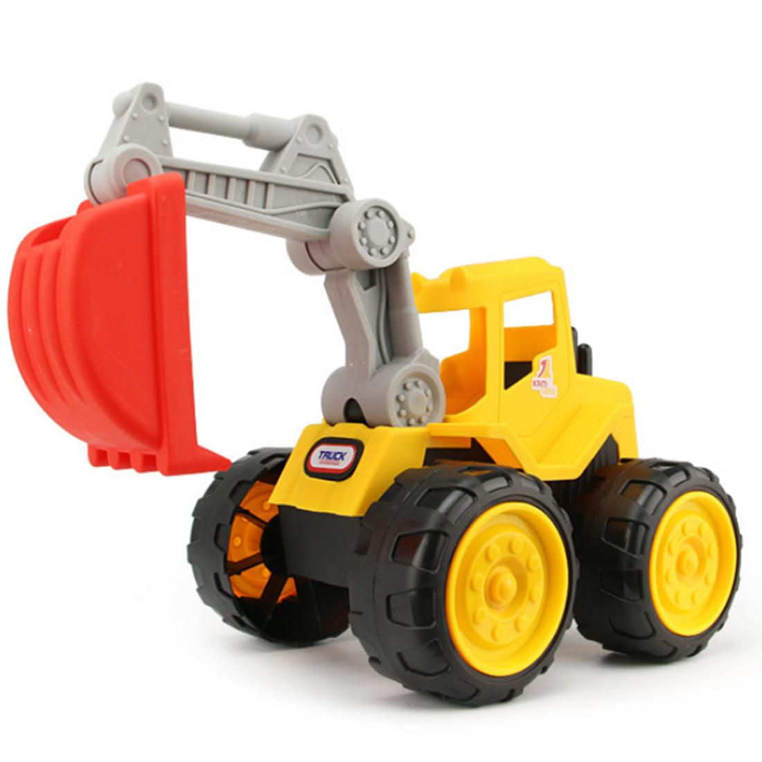 Kids Beach Sand Excavator Truck Beach Playing Tools Children Large Machineshop Truck Series Simulation Kids Fancy Toys... by