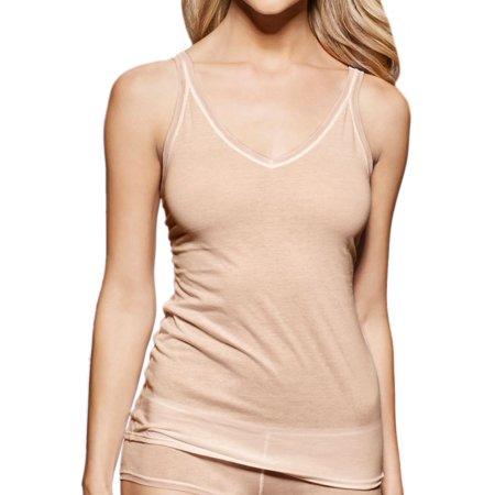 Free People Cotton Camisole - Women's fine lines 13RCA34 Pure Cotton Thin Strap V-Neck Camisole