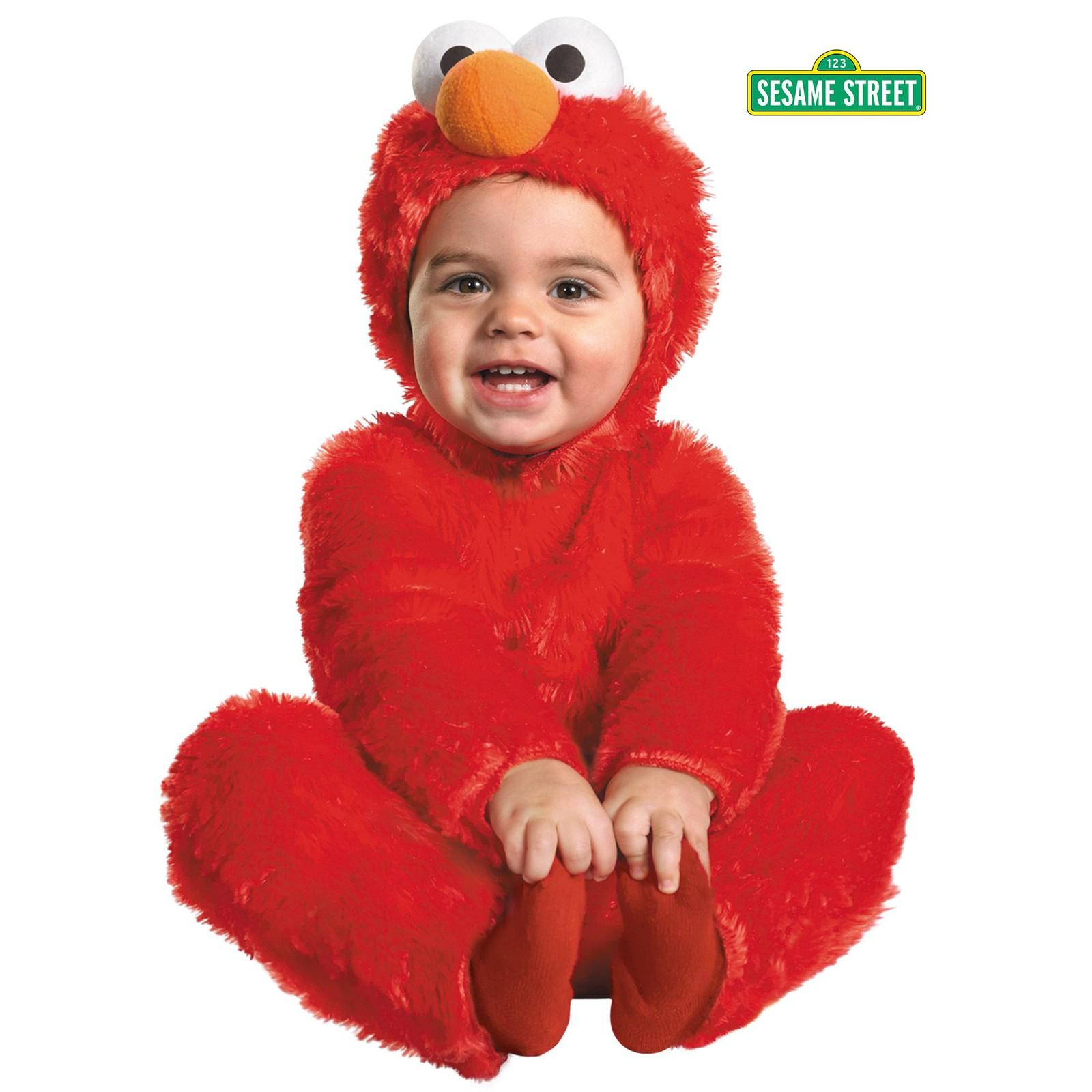 Sesame Street Elmo Comfy Fur Costume for Toddler by Disguise
