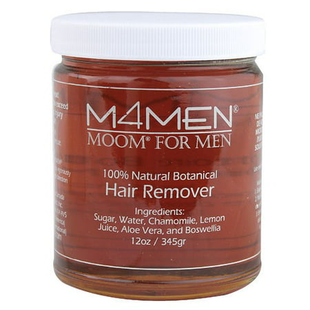 Moom M4Men Hair Remover Refill, 12 Oz