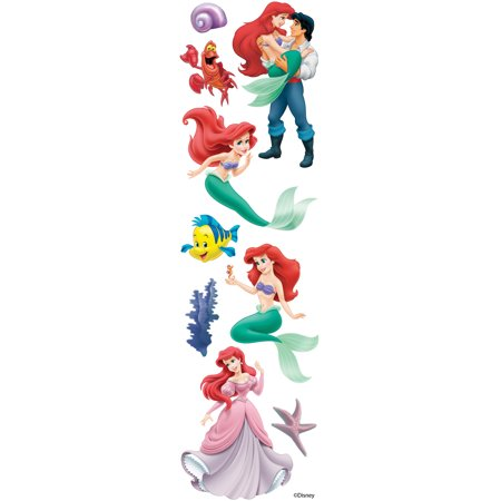 Disney Slims Dimensional Stickers-The Little Mermaid](Little Mermaid Stickers)