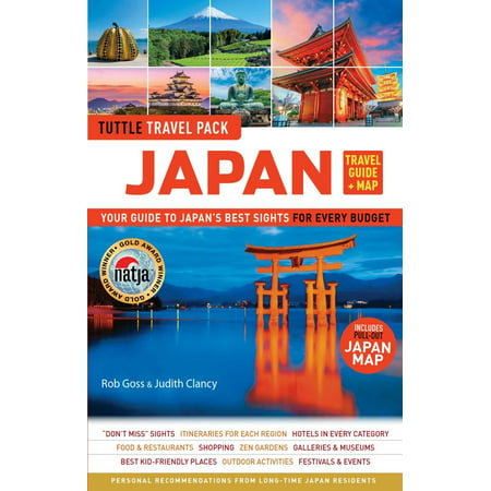 Tuttle Travel Guide & Map: Japan Travel Guide & Map Tuttle Travel Pack: Your Guide to Japan's Best Sights for Every Budget (Includes Pull-Out Japan Map) (Best Budget Bicycle India)
