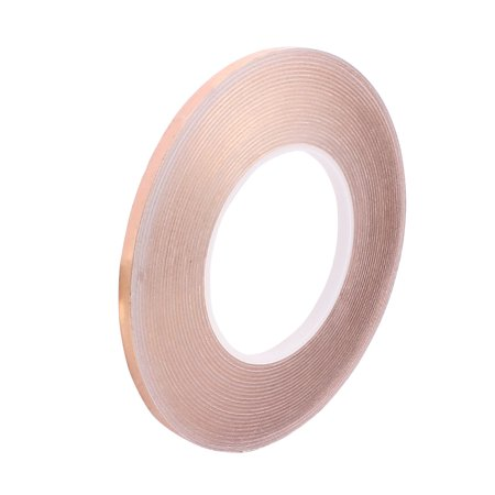 Unique Bargains 6mm Width 50m Long DIY Adhesive Single Sided Conductive Copper Foil Tape