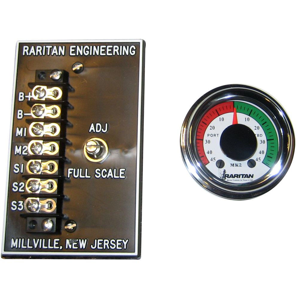 RARITAN ENGINEERING RARITAN RUDDER ANGLE INDICATOR MKII VERSION MK212