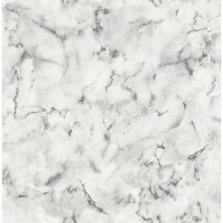 Brewster Notting Hill Light Grey Marble Wallpaper (Light Gray Wallpaper)