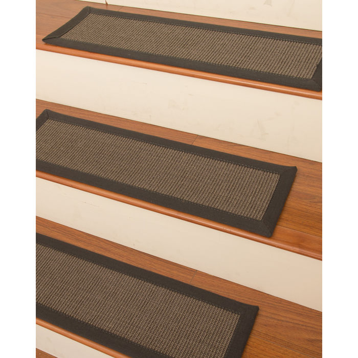 Natural Area Big Sur Sisal Carpet Stair Treads (Set of 13)