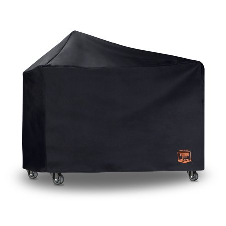 Yukon Glory 8268 Premium Grill Cover for Weber Performer Premium and Deluxe Charcoal Grills, 22-Inch (Compare to Weber 7152); Includes 3 Year Warranty