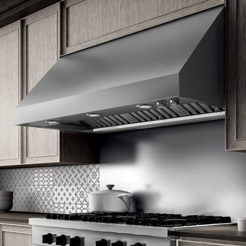 1200 Cfm 36 Inch Wide Professional Grade Wall Mount Range Hood With Halogen Lighting And Stainless Steel Baffle Filters From The Calabria Collection Walmart Com Walmart Com