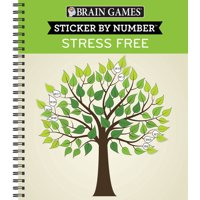 Brain Games Sticker by Number Stress Free (Other)