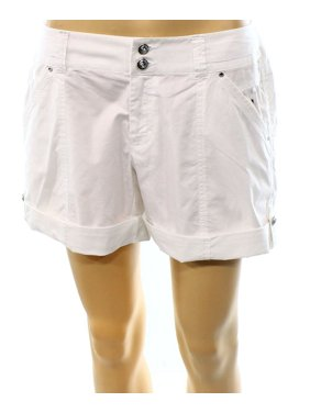 0596c347b9 Product Image INC NEW Bright White Women's Size 4 Curvy Fit Cuffed Twill  Shorts