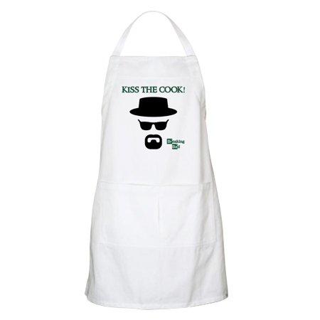 Kiss The Cook Aprons - CafePress - BREAKINGBAD KISS THE COOK Apron - Kitchen Apron with Pockets, Grilling Apron, Baking Apron