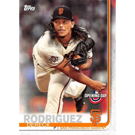 2019 Topps Opening Day #118 Dereck Rodriguez San Francisco Giants Baseball Card