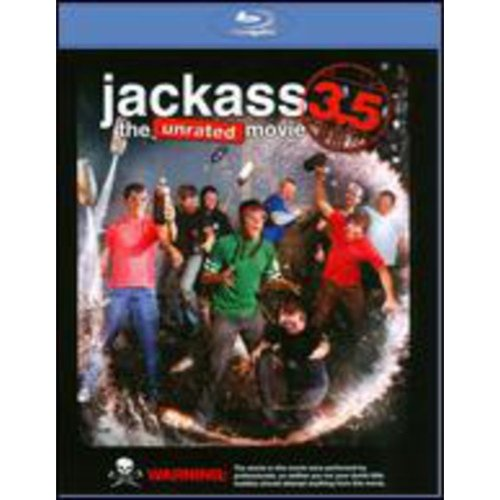 Jackass 3.5: The Unrated Movie (Blu-ray) (Widescreen)