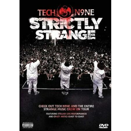 Tech N9ne: Strictly Strange (DVD) (Message To The Black Man Tech N9ne)
