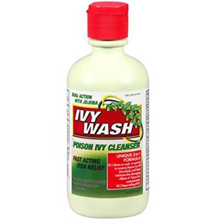 Ivy Wash Poison Ivy Cleanser Stops Itching Fast 6oz
