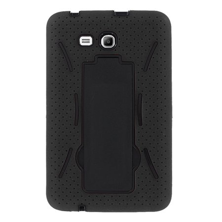 Heavy Duty Shockproof Hybrid Case with Kickstand Screen Protector Cover for Samsung Galaxy Tab E 8.0 SM-T377