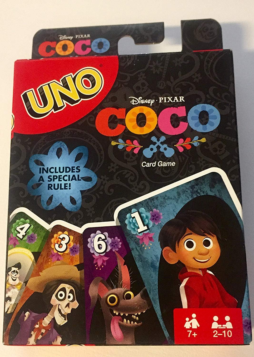 NEW Disney Pixar COCO UNO Card Game Full Color Special ...