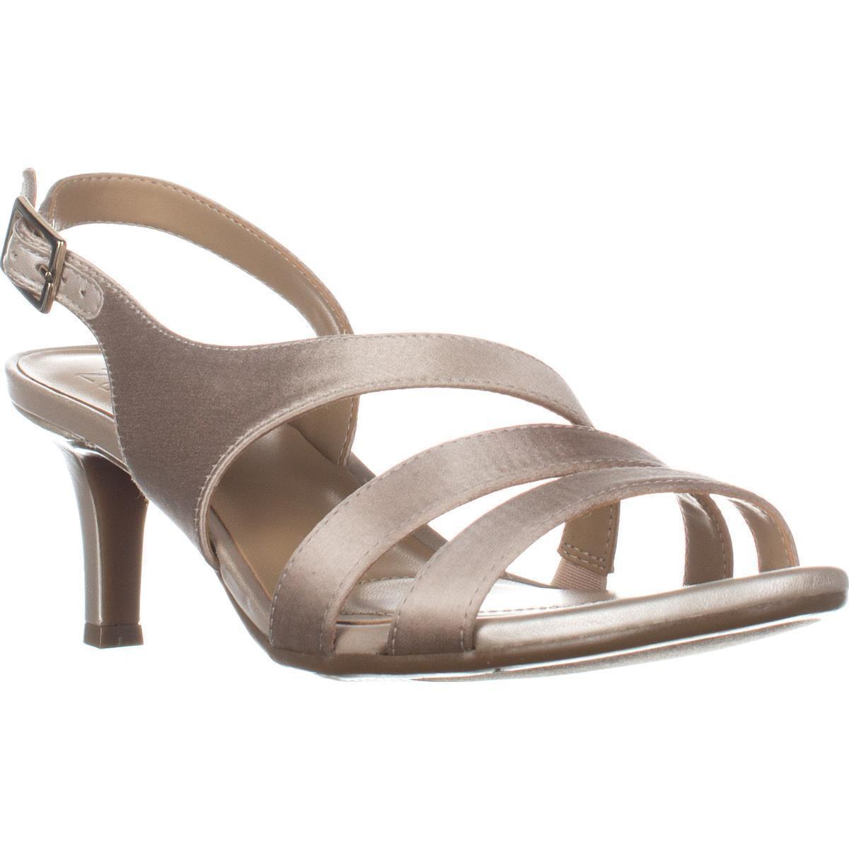 Womens Naturalizer Taimi Comfort Dress Sandals, Champagne by Naturalizer