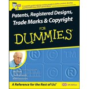 Patents, Registered Designs, Trade Marks and Copyright For Dummies - eBook