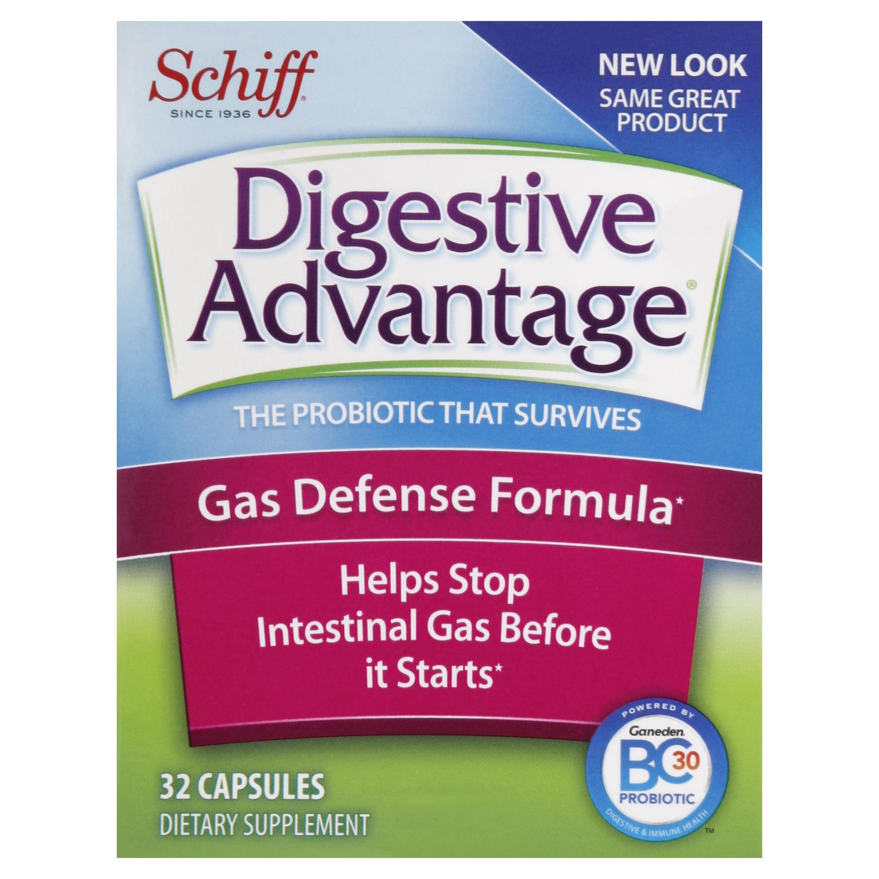 Digestive advantage gas