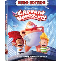 Captain Underpants: The First Epic Movie (Hero Edition) (Blu-ray + DVD + Digital HD)