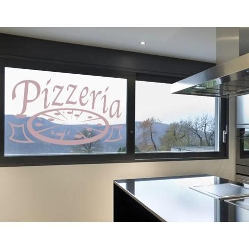 Style and Apply Pizzeria Window Glass Decal Vinyl Wall Art Home Decor