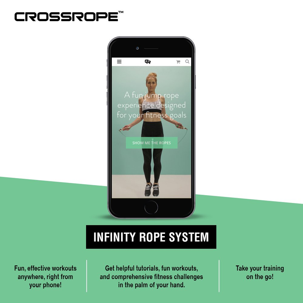 Crossrope Jump Rope Get Lean Set Speed Rope Strength Rope Improve Fitness Springseile Fitness & Jogging